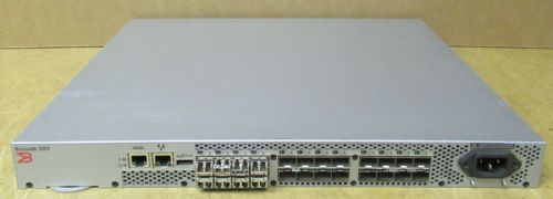 Brocade 300 24-Port 8Gb Fibre Channel SAN Switch 8 Ports Active BR-320-0008
